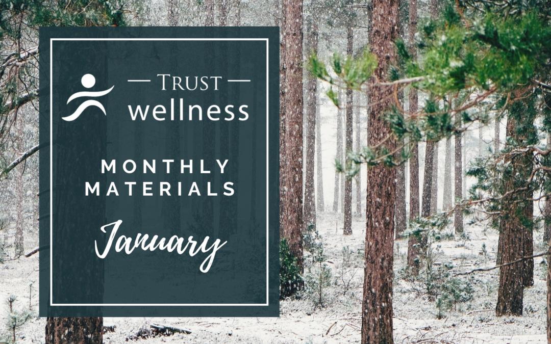 January 2021 Wellness Materials