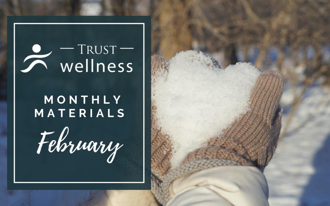 February 2021 Wellness Materials