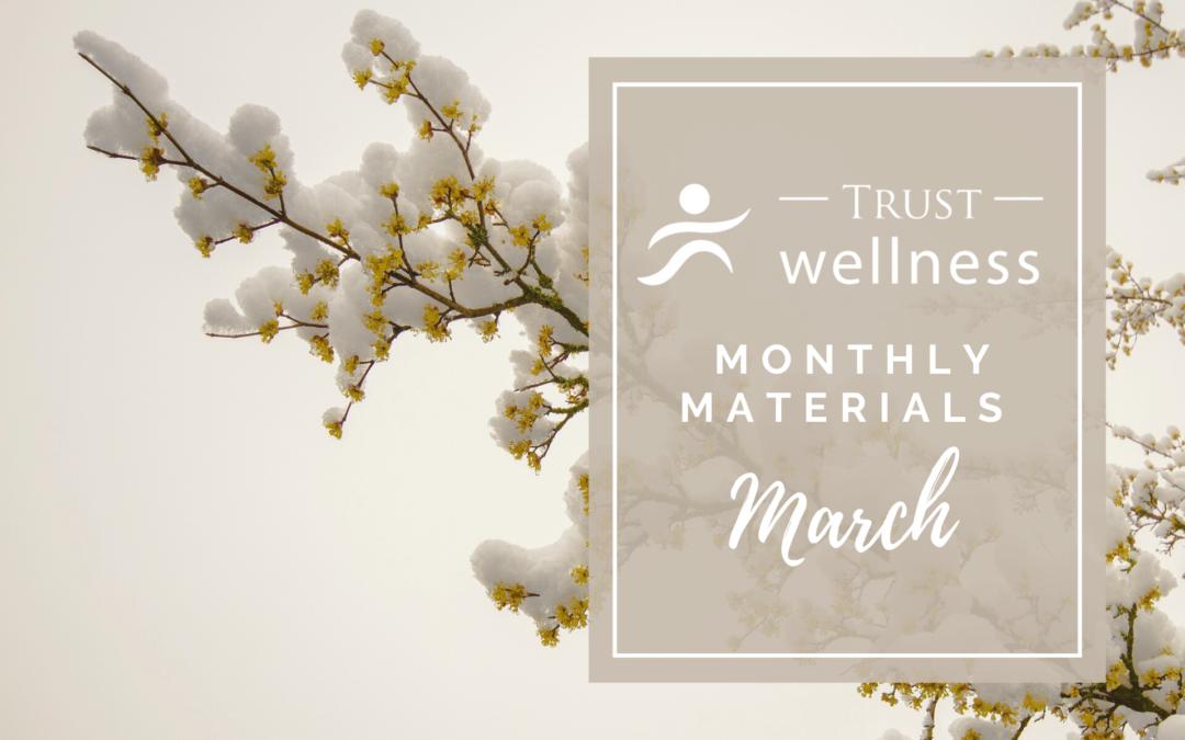 March 2021 Wellness Materials