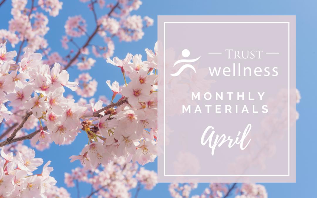 April 2021 Wellness Materials