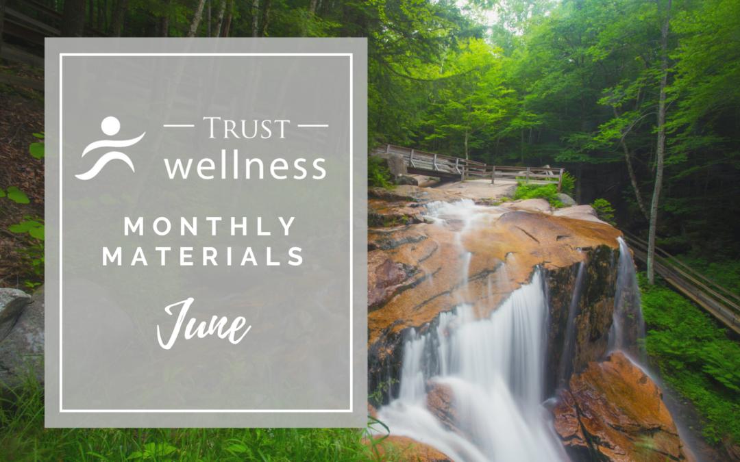 June 2021 Wellness Materials