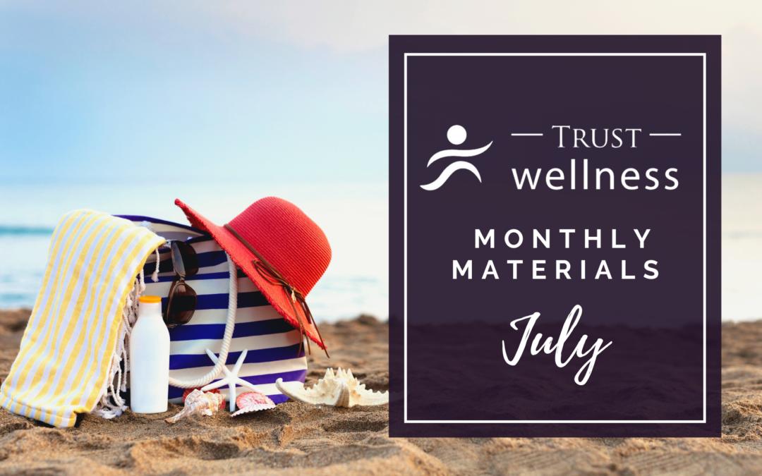 July 2021 Wellness Materials