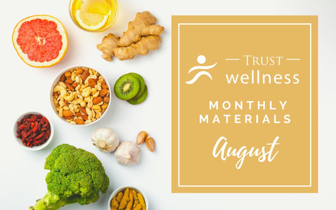 August 2021 Wellness Materials