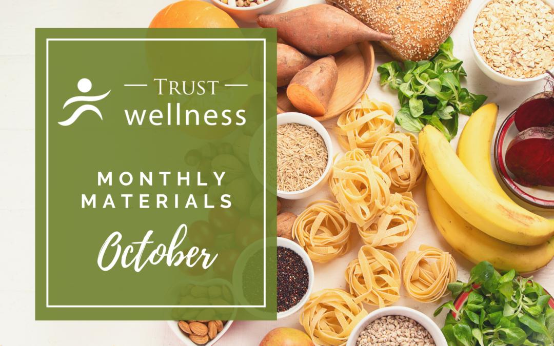 October 2021 Wellness Materials