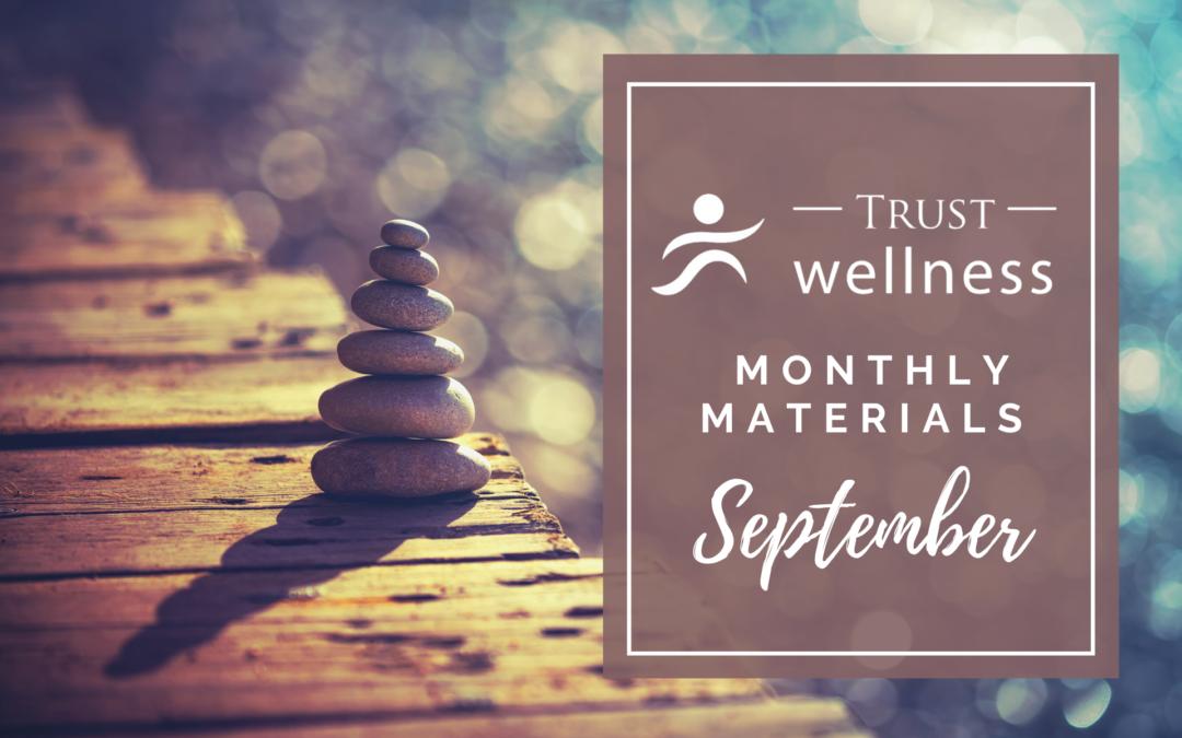 September 2021 Wellness Materials