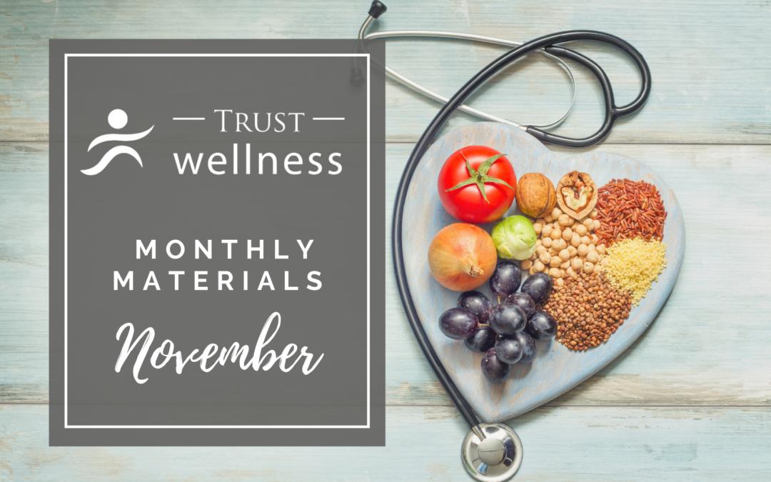 November 2021 Wellness Materials